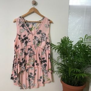 1. State Floral Blouse
